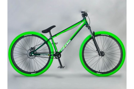 "26"" Dirt Jump MAFIA BLACKJACK GREEN"