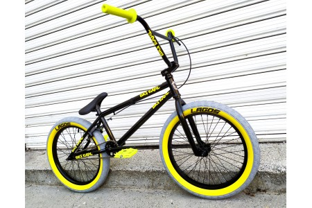 "MAFIA Kush2+ BMX 20"" Custom BLACK 'N YELLOW"