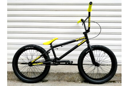 "STOLEN BMX 20"" Custom BLACK 'N YELLOW"