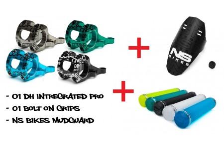 Лапа Octane One Chemical Pro + Подарък Грипове Bolt-On + Подарък Mud Guard NS Bikes