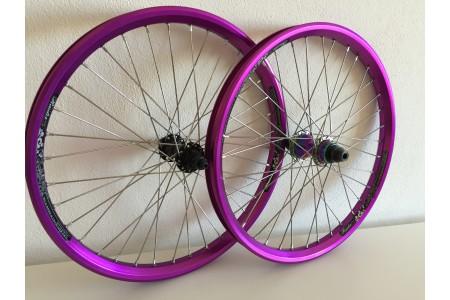 BMX Предна Капла (Wheelset) Eclat Simplex + Dartmoor Rider Шина 20''